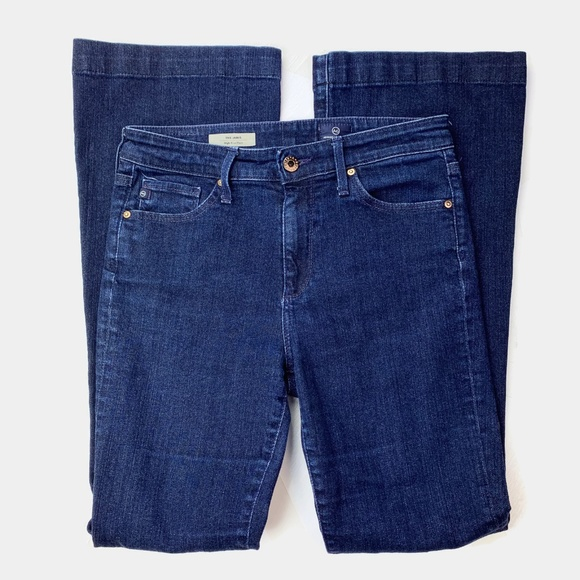 AG Adriano Goldschmied Denim - AG The Janis High Rise Flare Jeans 27